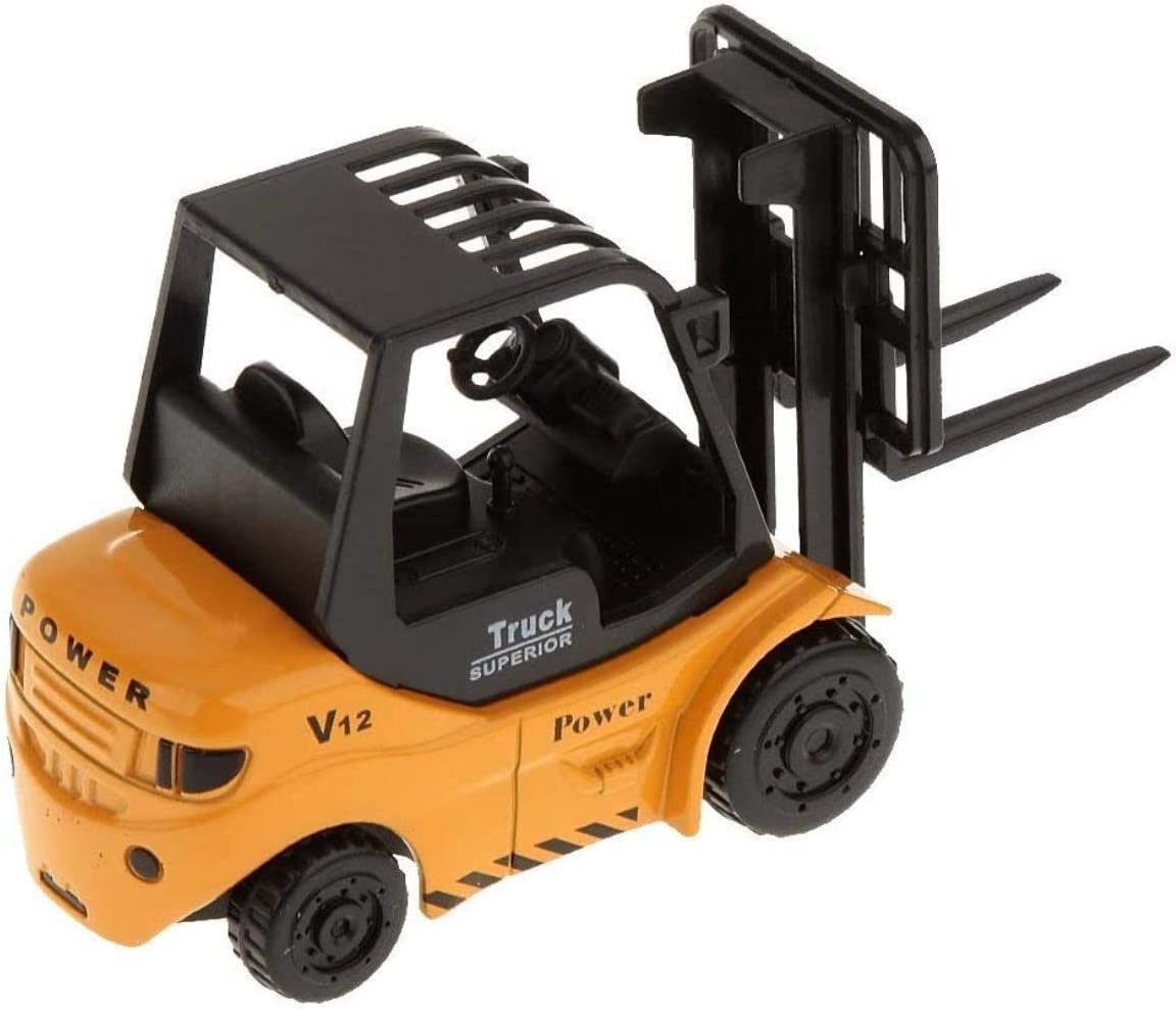 1:64 Diecast Max 77% OFF Discount is also underway Forklift Truck Forktruck for Model Kid Vehicle Toys