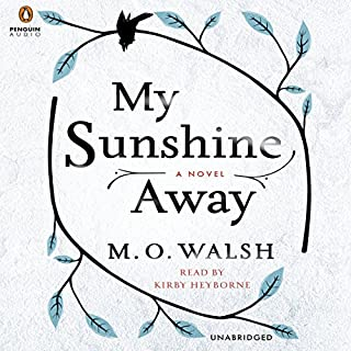 My Sunshine Away audiobook cover art