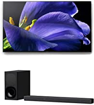 "Sony XBR-65A9G 65"" Bravia 4K Ultra High Definition Smart OLED TV with a Sony HT-G700 3.1 Channel Bluetooth Soundbar and Wi..."