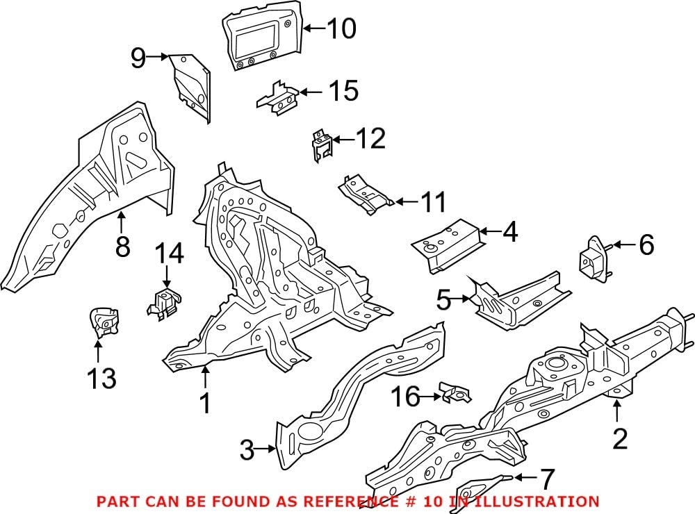 Genuine OEM Rear Passenger Right Panel For BMW Beauty products Extension San Diego Mall Quarter