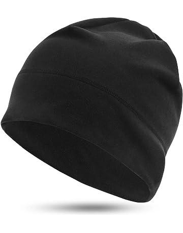 RRP £ 15 Regatta Bambini Ragazzi Nero Sci Inverno Beanie Cappello in pile caldo inverno