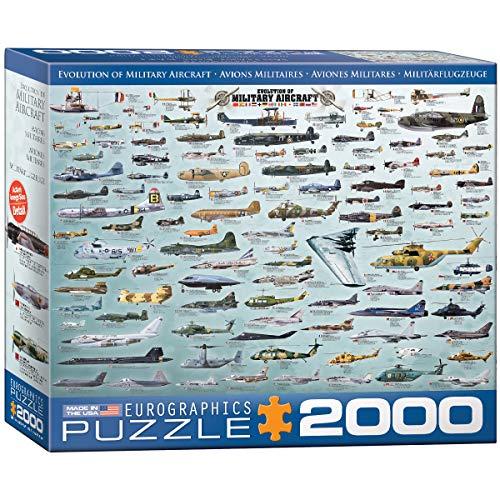 EuroGraphics Puzzle Évolution de l'aéronautique Militaire (2000 pièces)