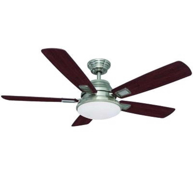 Hampton Bay 52 In. Latham Brushed Nickel Ceiling Fan by Hampton Bay