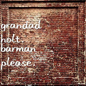 Barman Please.