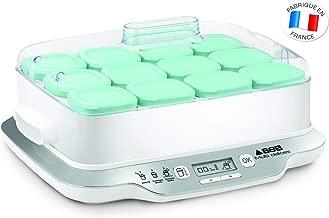 Seb YG6581FR - Yogurtera, 600 W, 1.6 L, 12 frascos, blanco