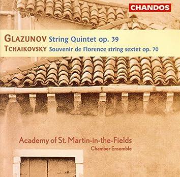 Tchaikovsky: Souvenir De Florence / Glazunov: String Quintet, Op. 39