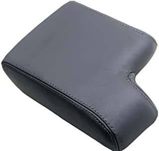 Fits 1992-1999 BMW E36 Synthetic Leather Black Console Lid Armrest Cover (Synthetic Part Only)