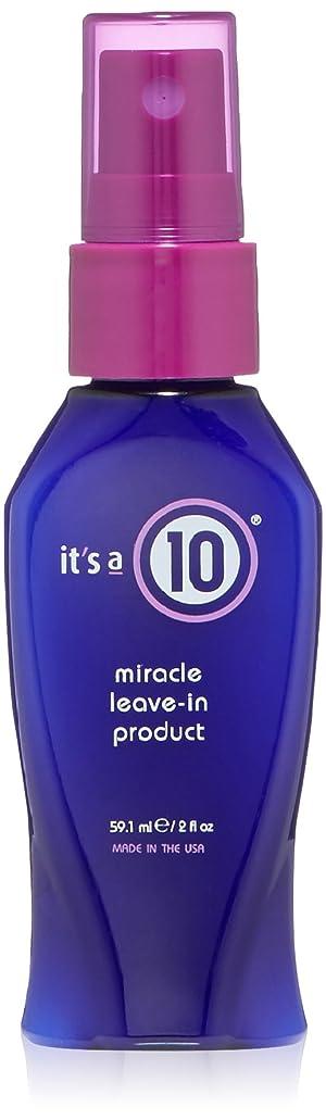 共和党メルボルンバッジIt's A 10 Miracle Leave-In 45 ml (2 oz.) (並行輸入品)