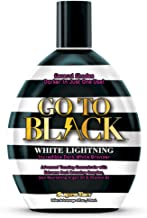 SUPRE Go To Black White Lightning White Bronzing Tanning Lotion