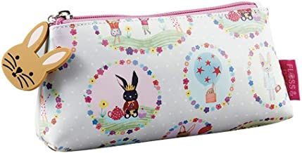 Floss & Rock Pencil Case, Bunny, 9x4x1.5 inches (35P2495)