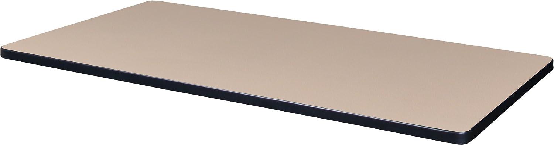 Regency 42  x 24  Rectangle Laminate Table Top- Beige Grey