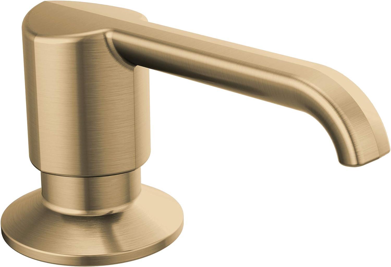DELTA FAUCET Ultra-Cheap Deals Max 56% OFF RP101188CZ Emmeline Soap Champagne Dispenser Metal