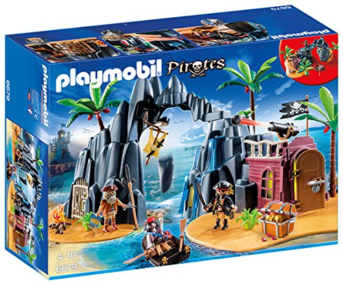 Isla del Tesoro para piratas, Playmobil.
