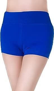 ABUSA 女士棉质健身自行车瑜伽短裤 - 收腹