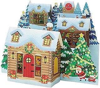 SANRIO Illuminated Snow Resort Lights and 16 Melodies Christmas Pop Up Greeting Card