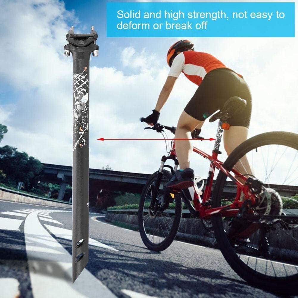 Tubo de sill/ín de Bicicleta para Bicicleta de Carretera de monta/ña Bicaquu Tija de sill/ín de Bicicleta Ligera aleaci/ón de Aluminio 27.2 * 400mm