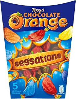 Terry's Chocolate Orange Segsations (330g) テリーのチョコレートオレンジsegsations ( 330グラム)
