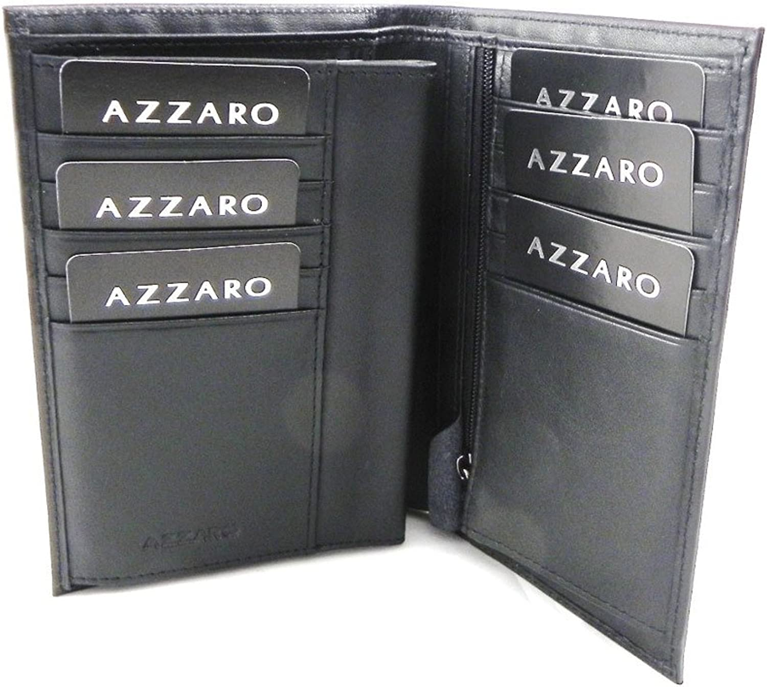 Azzaro [H9727]  Grand wallet 'Azzaro' black (3 parts).