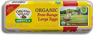 Organic Valley, Organic Omega-3 Free-Range Large Brown Eggs - 1 Dozen (12 ct)