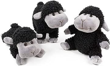 FRANKIEZHOU Stuffed Animal Sheep Lamb Plush Soft Toys Lovely 3Pcs(Sitting, Standing, Kneeling) Best for All Little Girl