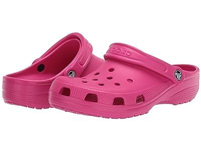 Crocs Classic Clog (Electric Pink) Clog Shoes