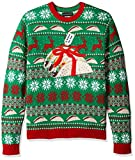 Blizzard Bay Men's Ugly Christmas Sweater Food, Green, Large