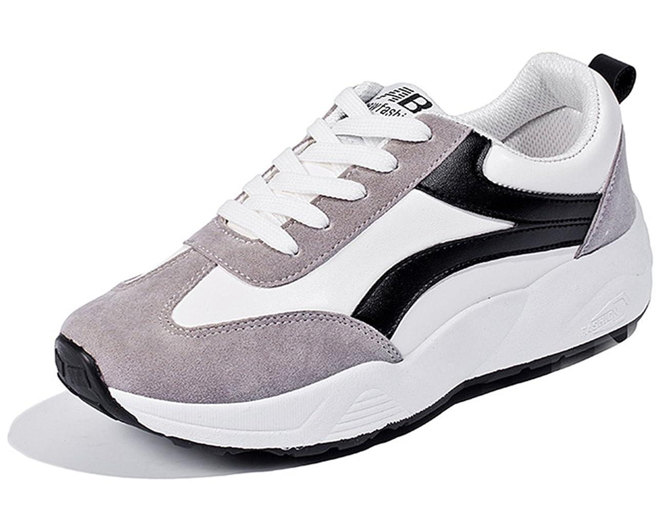 パプアニューギニア複数責める[ZUOMA] レディース 運動靴 スポーツシューズ カジュアルシューズ ランニングシューズ フラットヒール クッション性