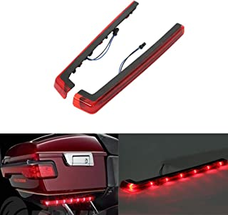 XMT-MOTO Tour pack Pack Accent Side Panel LED Light fits for Harley Davidson Touring 2014 2015 2016 2017 2018