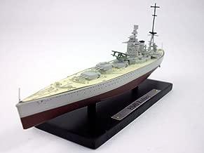 HMS Rodney (29) Battleship - British Navy 1/1250 Scale Diecast Metal Model Ship