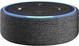 Amazon Echo Dot (第2世代) 用ファブリックケース チャコール