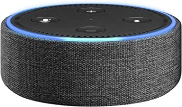 Amazon Echo Dot Case (fits Echo Dot 2nd Generation only) - Charcoal Fabric