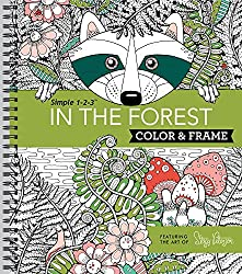 Color & Frame Coloring Book - In the Forest