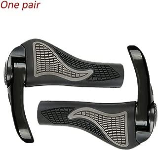 Eyech One Pair Anti-Slip Silicon Bicycle OX Horn Handlebar Grips Ergonomic Grips for MTB Mountain Road Bike Riding Equipment