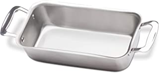 360 Stainless Steel Loaf Pan, Handcrafted in the USA, 5 Ply, Surgical Grade Stainless Bakeware, Dishwasher Safe, Professional Grade, Use as Baking Pan, Roasting Pan (11