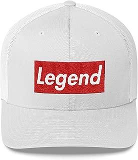 Legend Hat (Supreme Box Logo Style) Trucker Cap