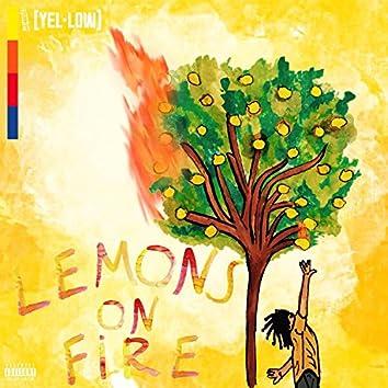 Lemons on Fire: Yellow