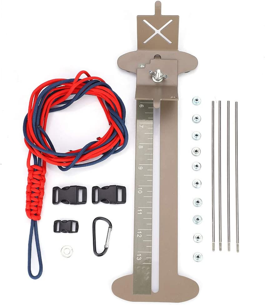 We OFFer at cheap prices Fsskgx Paracord Bracelet Kit and In a popularity Set Adjustable Metal Brace Jig