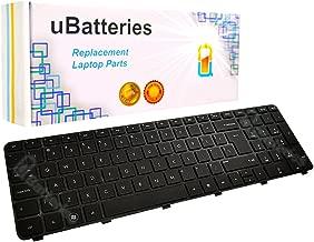 UBatteries Compatible Laptop Keyboard Replacement for HP Pavilion DV7-6000 DV7-6b00 DV7-6c00 DV7T-6000 639396-001 634016-001 664264-001 661001-001 664264-B31 (Black with Big Enter Key)
