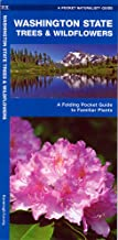 Washington State Trees & Wildflowers: A Folding Pocket Guide to Familiar Plants (Wildlife and Nature Identification)