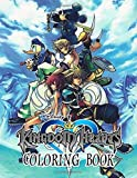 Kingdom Hearts Coloring Book: Inspired by Kingdom Hearts Game Series...