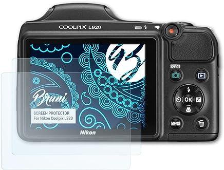 Accesorios cámaras/fotografía 6x protector de pantalla Nikon Coolpix p610 lámina protectora claro lámina protector de pantalla