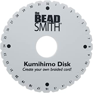 Beadsmith KD600 Kumihimo Round Disk with English Instructions, 6-Inch