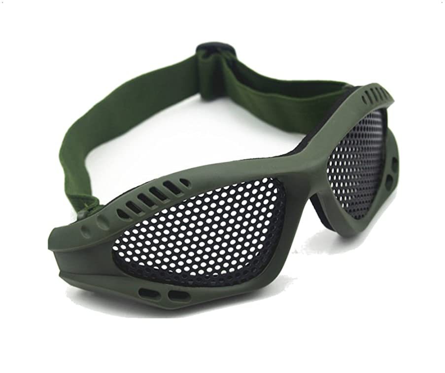 ASX Design Shooting Tactical Airsoft Goggles No Fog Mesh Glasses Protect Eyes