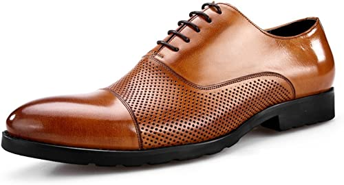 Men's Leather Casual schuhe Dress Herbst Business Hochzeit Mode Rutschen Schwarzbraun Dünne Schuhe