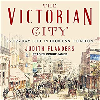 The Victorian City audiobook cover art