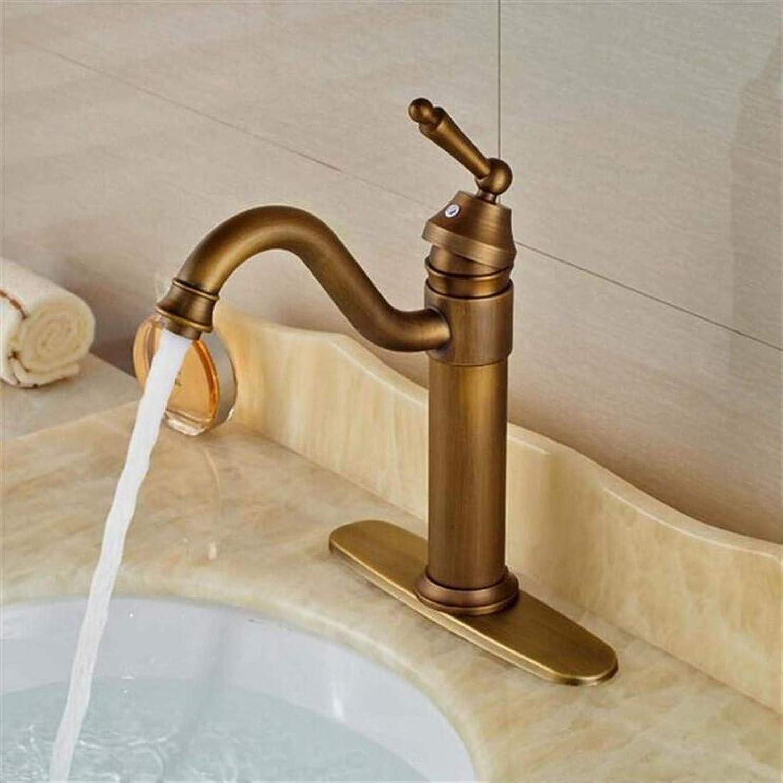 Faucet Chrome Single Handle Contemporary Kitchen Faucet Faucet Washbasin Mixer Single Lever Deck Mount Basin Vessel Mixer Tap Antique Brass Hot Cold Bathroom Sink Faucet