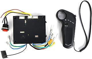2.4G fjärrkontroll elektrisk skateboard ESC-motor hållbar borstlös navmotorstyrenhet, för skoter, skottkärror, torsionsbi...