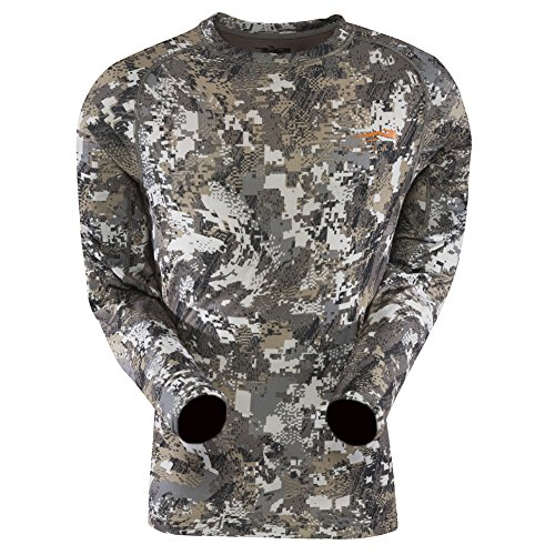 SITKA Gear Core Light Weight Crew - Long Sleeve Optifade Elevated II Medium