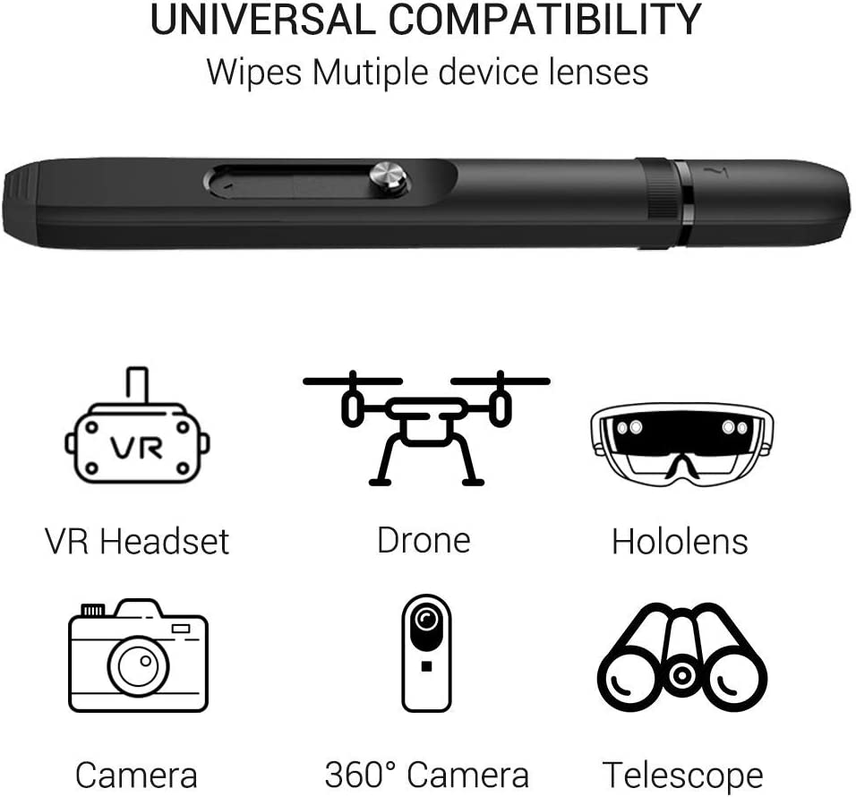 Microsoft HoloLens Lens Cleaning Pen and Lens Cover for Oculus Quest 2 Cameras Drone Optical Lens Dust and Fingerprint Cleaning for Rift S//HTC Vive//Cosmos//Valve Index//HP Reverb G2 //PS4 VR Headset