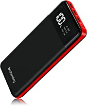 Power Bank 25000mAh Portable Charger, High Capacity Battery Pack Backup External USB Battery Power Pack Battery Charger 3 ...
